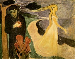 Edvard Munch,  Separation  (1900).