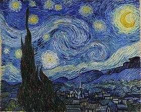 Vincent van Gogh, Nuit étoilée</i) (1888).