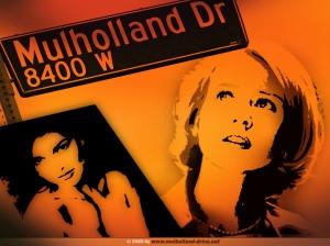 Mulholland Drive, l'affiche. David Lynch (2005).