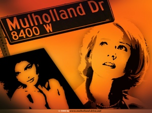Mulholland Drive, l'affiche. David Lynch (2005).