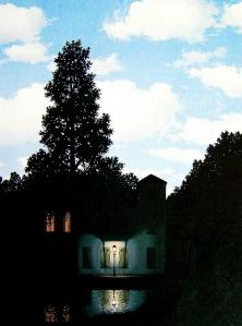 René Magritte, l'une des versions de <i>L'empire des lumières</i>.
