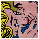 ROY_lICHTENSTEIN_kISS_1964