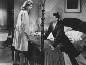 Ingrid Bergman et Gregory Peck dans La maison du Dr Edwardes, Alfred Hitchcock (1945).