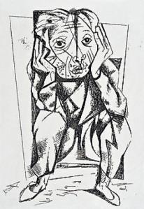 Candido Portinari, Simão Bacamarte, 1948.