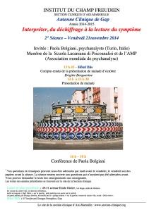 2ième séance AC 2014-15 21 novembre 2014