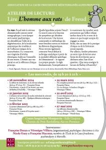 Atelier de lecture 2014-2015 n° 1 V