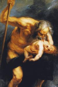Saturne dévorant un de ses fils, Peter-Paul Rubens.