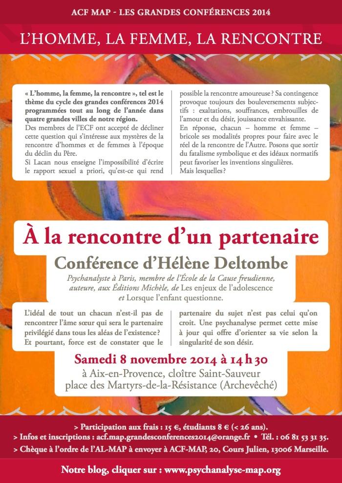 Grandes conférence Hélène Deltombe