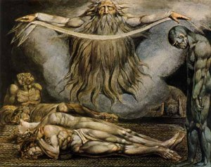 The House of Death, The Lazar House, William Blake.