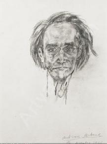 Antonin Artaud, autoportrait, 1946.