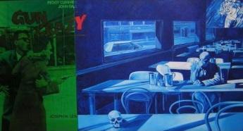 Couleur n°1 Gun Crazy, Jacques Monory - Rétrospective jusqu'au 17 mai 2015 au Fonds Hélène et Edouard Leclerc<br>pour la culture, Landernau.