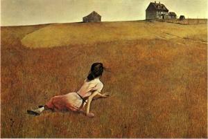 Le monde de Christina, du peintre américain Andrew Wyeth.