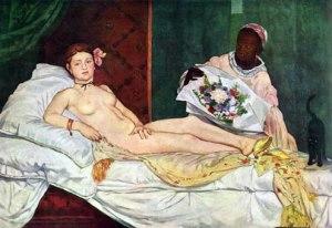 Olympia, Edouard Manet (1865).