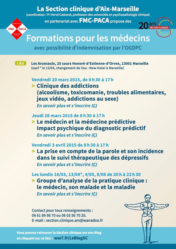 SECTION CLINIQUE-FMC formation médecins-DPC