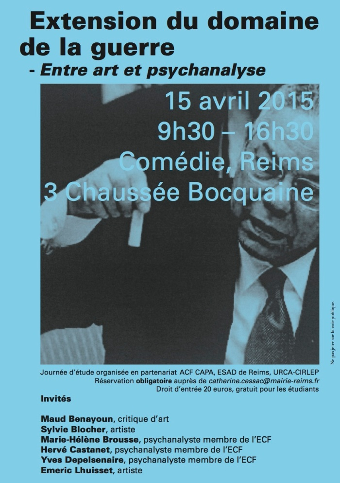2015-03-13 Extension du domaine de la guerre - Flyer (Web)