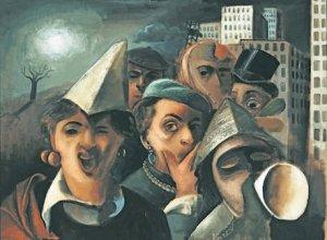 Mascarade, Félix Nussbaum, 1939.