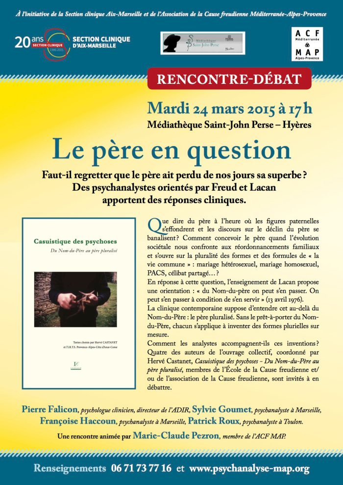 Le père en question AFFICHE 24 mars 2015 Hyères