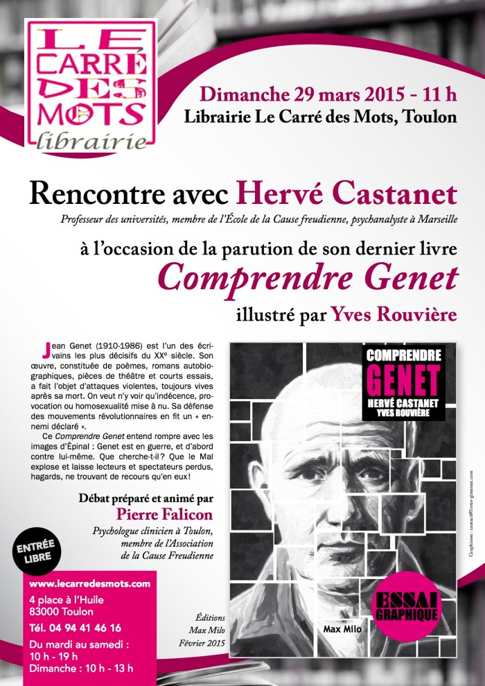RENCONTRE Librairie carré des mots mars  2015