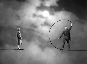 Gilbert Garcin, The breakdown, 2009