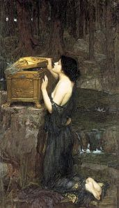 Pandora, J. W. Waterhouse (1896).