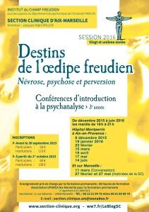 SECTION CLINIQUE AFFICHE les conférences d'intro 2016-1