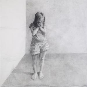 Jérôme Zonder-sans titre, 2014-fusain et mine de plomb sur papier-150 x 150 cm-Collection privée- France