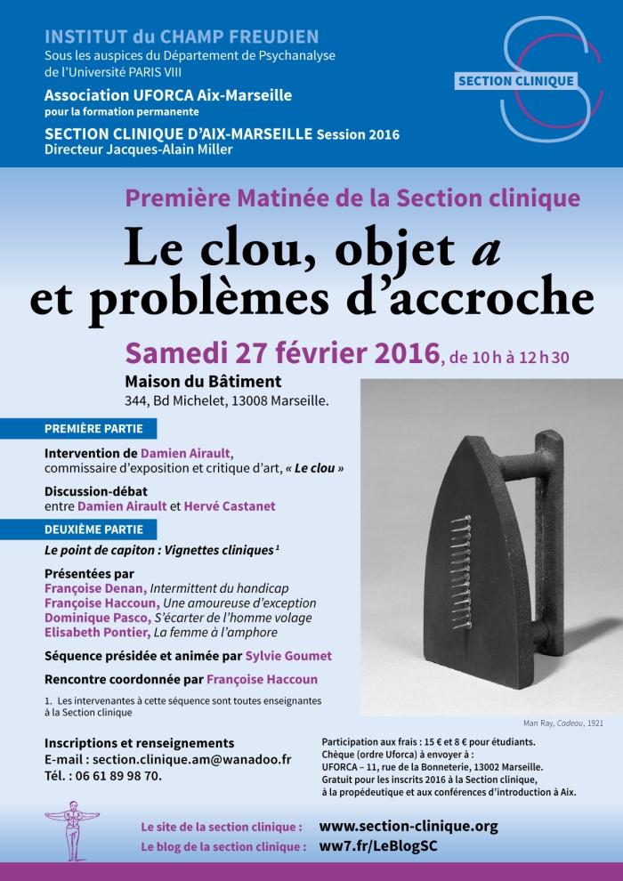 SC Matinée Le Clou 27 février 2016