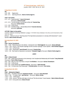 9th Clinical Study Days – MUST DO IT