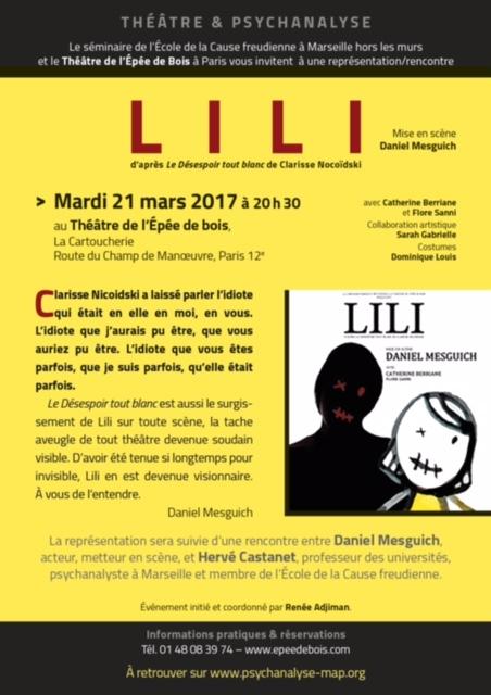 Lili rencontre Mesguich AFFICHE
