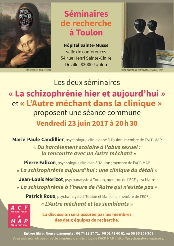 Deux séminaires Toulon 23 juin 2017