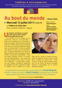1-AU BOUT DU MONDE 12 juillet Avignon