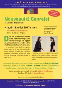4-NOUVEAU(X) GENRE(S) 13 juillet Avignon