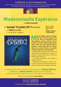 7-MADEMOISELLE ESPÉRANCE 15 juillet Avignon