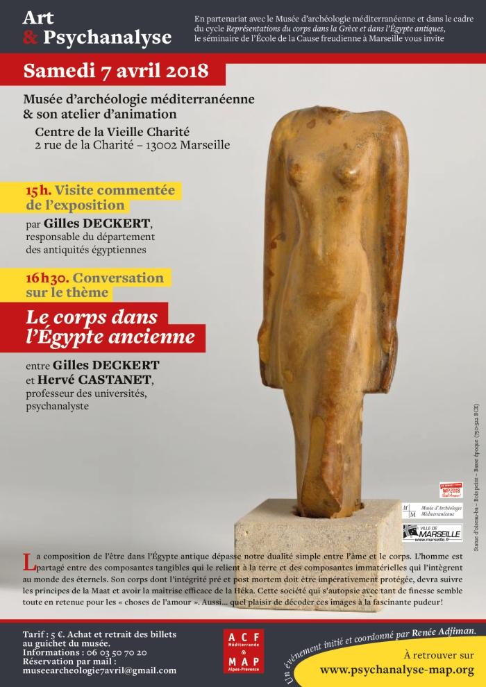 Visite Expo muse?e d'arche?ologie V ieille Charité 7 avril 2018 NB