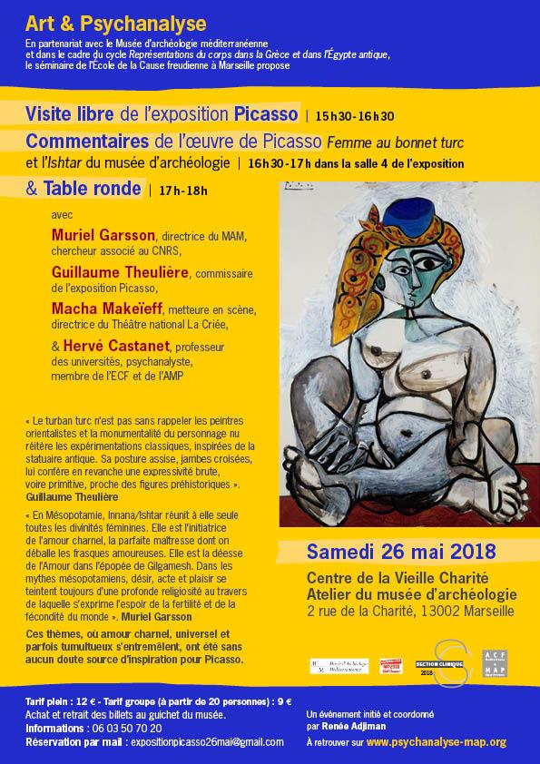 Exposition Picasso, Vieille Charite ́, Visite samedi 19 mai 2018 (2)