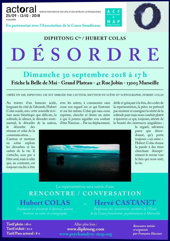 rencontre débat H Colas H Castanet le 30 09 2018