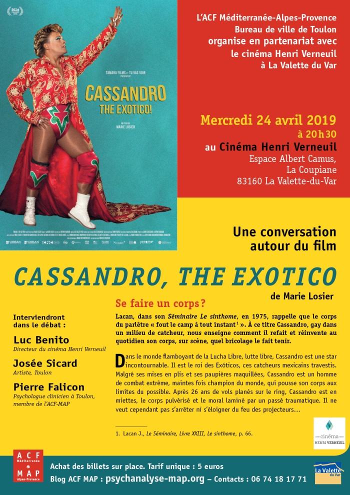 ACF MAP CASSANDRO THE EXOTICO Ci né La Valette, 24 avril 2019