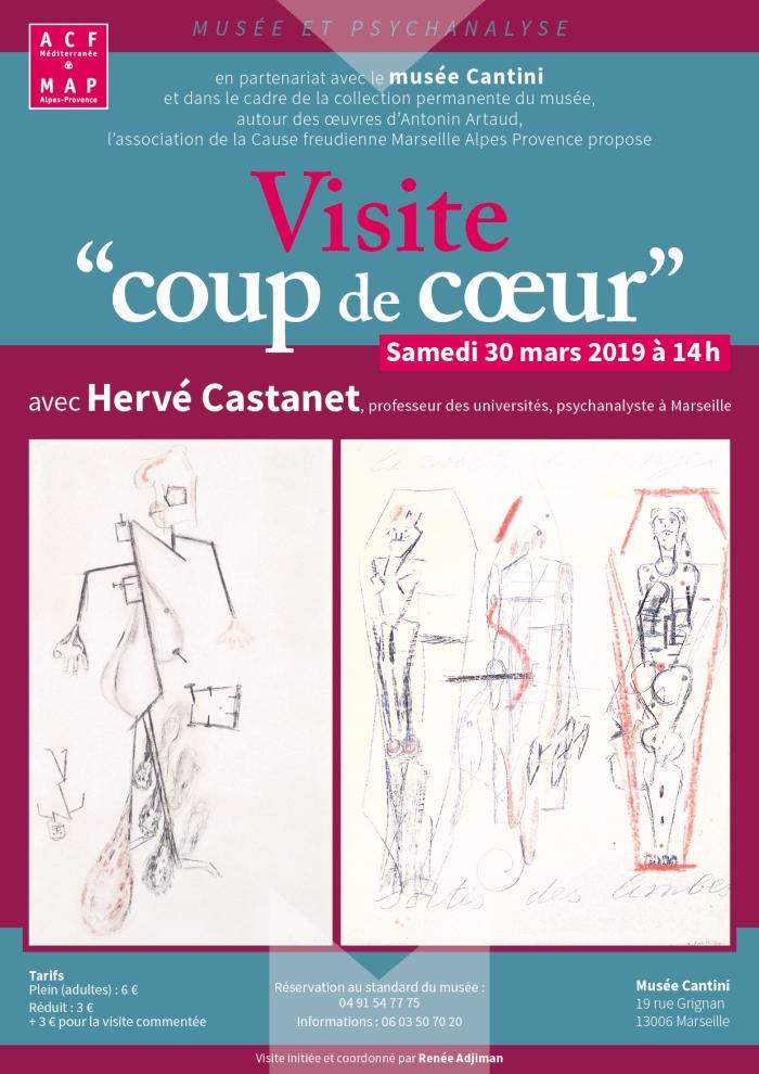 Visite coup de c?ur, Collection Art aud Musée Cantini, 30 mars 2019