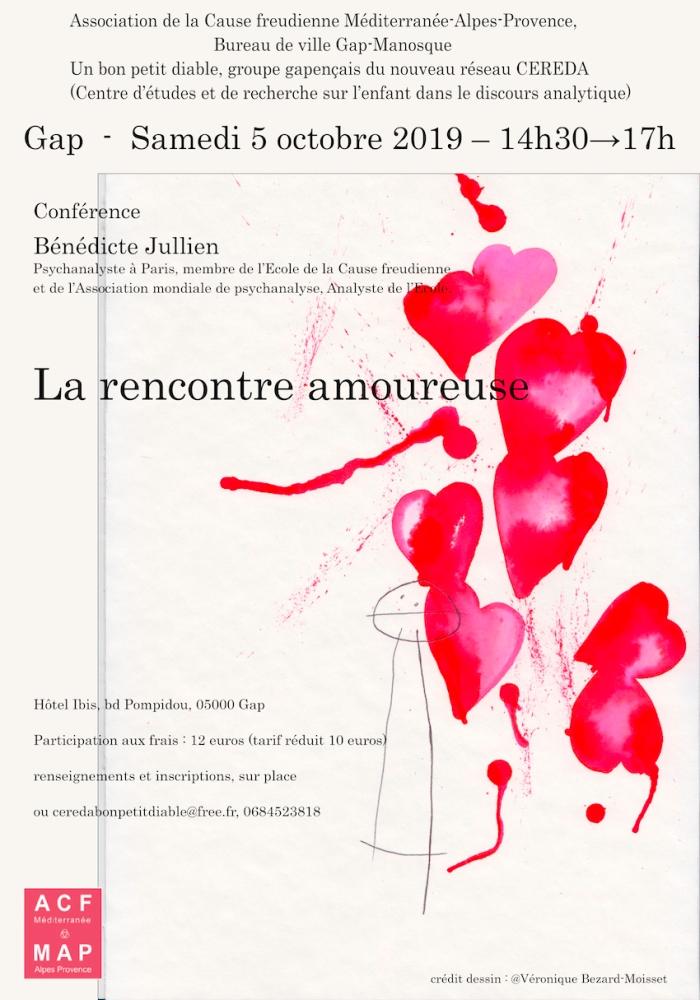 la rencontre amoureuse Gap 05.10.19 CEREDA-ACF